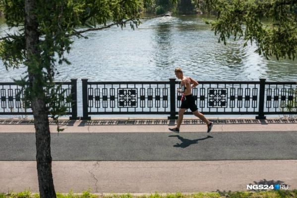 В выходные в Красноярск вернется летний зной