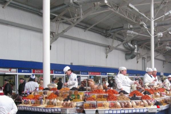 Губернский рынок — один из старейших в Самаре