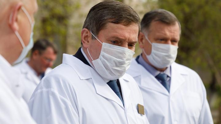 Андрей Бочаров ужесточит меры борьбы с коронавирусом в Волгограде и области