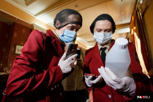 Состав антисептиков изучается досконально. Достаточно ли там активных веществ, чтобы убить вирус?