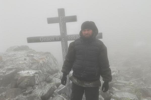 Сергий Алиев потерялся, когда испортилась погода