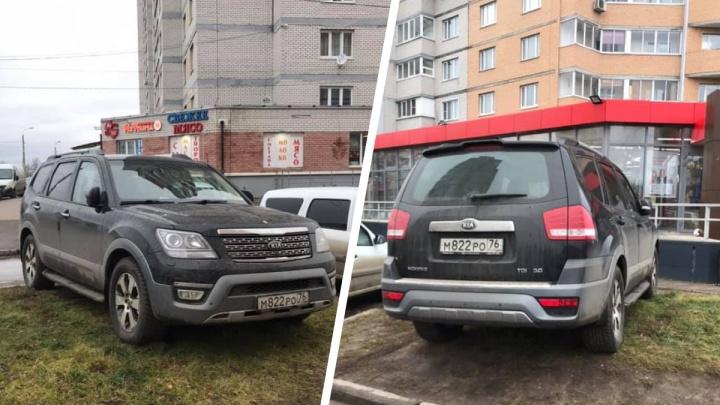 Я паркуюсь, как царь горы: подборка нарушителей с улиц Ярославля