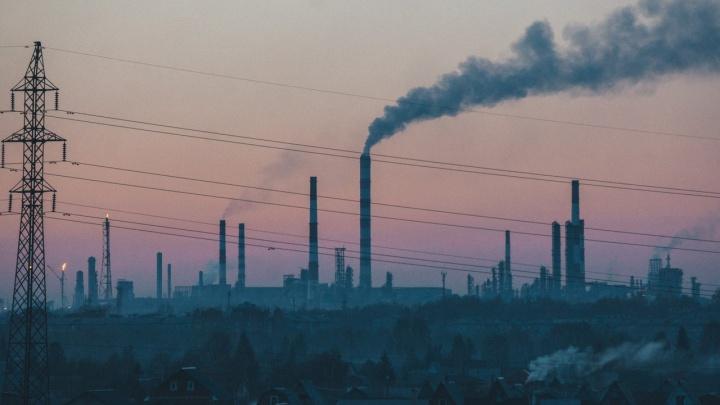 Омские предприятия обязали до вечера сократить выбросы
