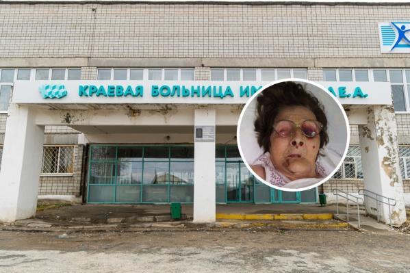 Пенсионерку доставили в краевую больницу Вагнера 6 ноября