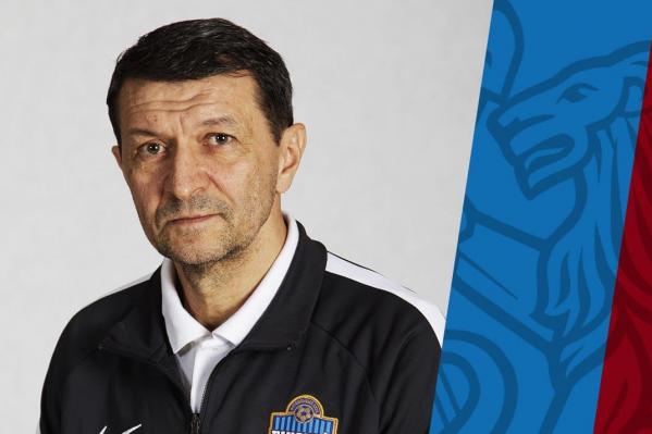 Юрий Газзаев в «Енисее» с августа прошлого года