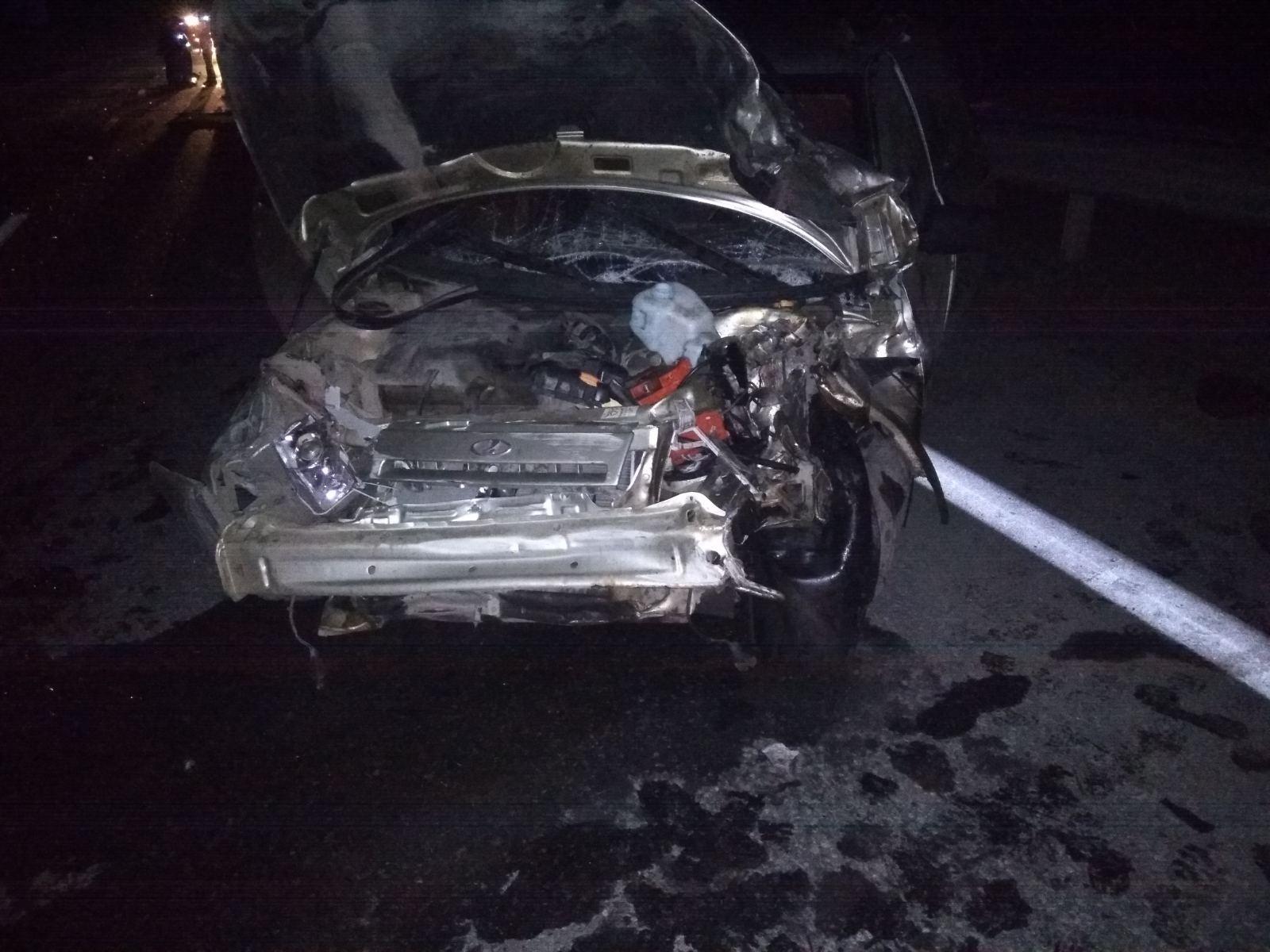 В итоге в аварии столкнулись три машины