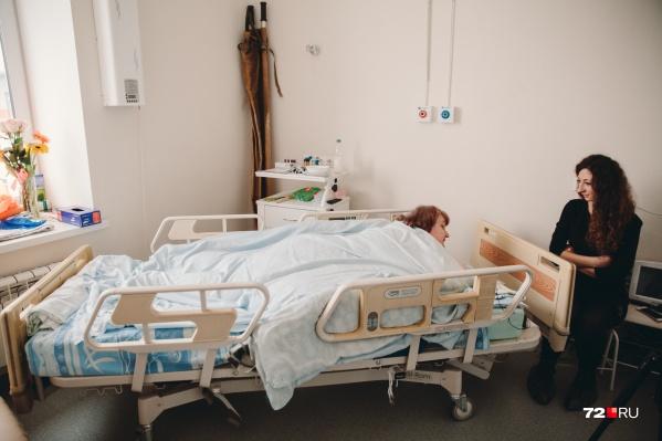 Любовь Михайловна сумела скинуть больше ста килограммов и готова к хирургическому вмешательству