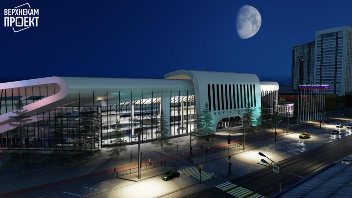 В Перми показали три варианта реконструкции стадиона «Юность»