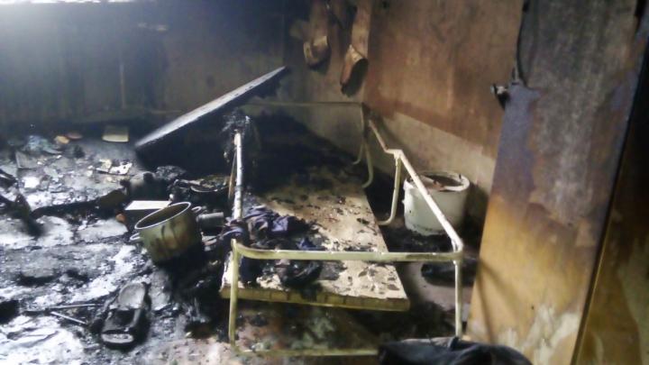Архангельские спасатели назвали вероятную причину пожара, в котором погиб мужчина