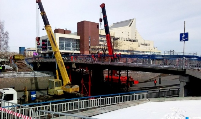 В Красноярске ищут проектировщиков пешеходного моста у БКЗ взамен разрушенного