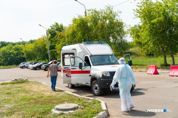 За весь период в Омской области заразились 9507 человек
