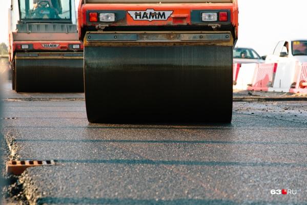 В 2020 году отремонтировали 303 км автомобильных дорог