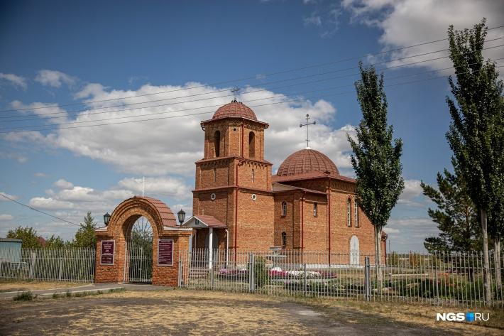 В Гальбштадте построили православную церковь, в других сёлах ещё сохранились католические приходы