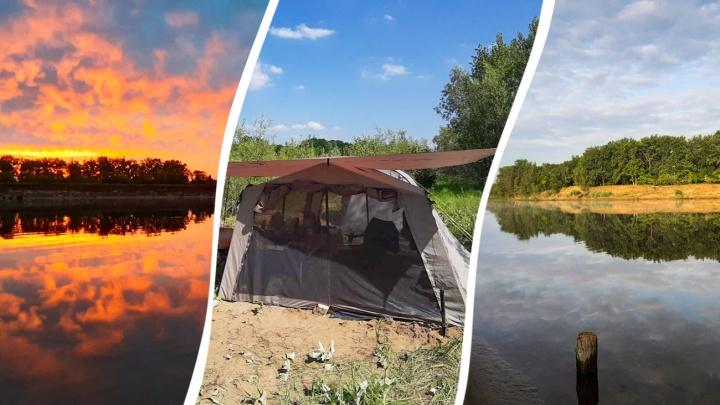 Волжский туризм, или куда отправиться на отдых с палатками в Самарской области