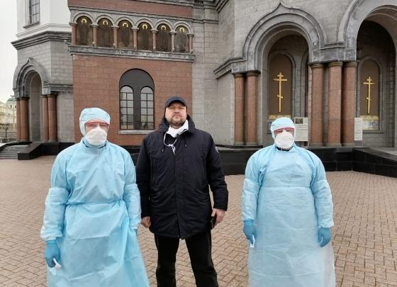 Прихожанам Храма на Крови будут измерять температуру