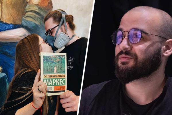 Сооснователь кофейни «Книжный» Артур Акопов надеется, что его проект выживет, когда пандемия закончится