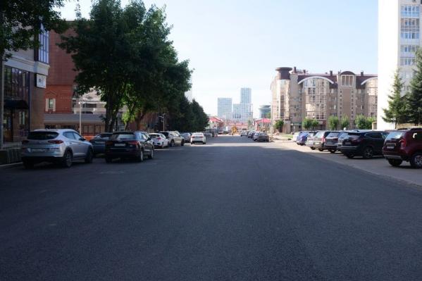 Так выглядит обновленная улица