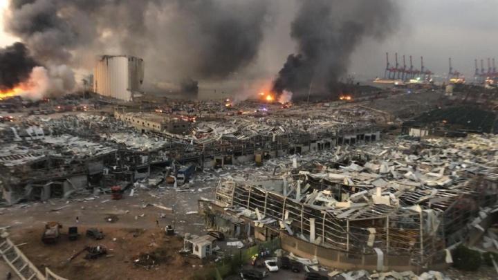 Как восстанавливают Бейрут после мощного взрыва: прямой эфир из Ливана