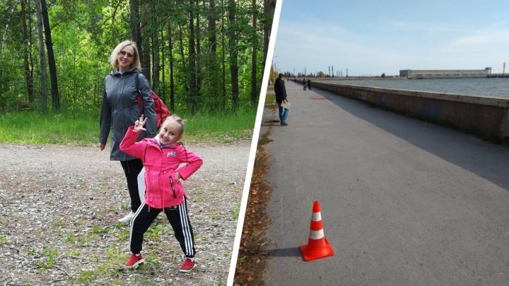 В Новосибирске прооперировали 6-летнюю девочку, которую сбил подросток на байке. Виновника ДТП ищут
