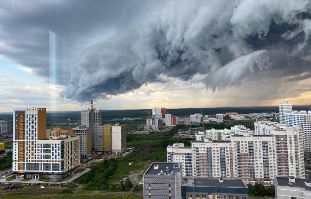 На Свердловскую область надвигается ураган
