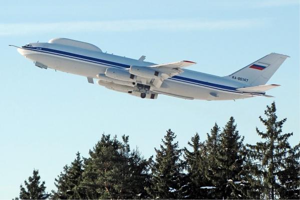 Самолет должен эвакуировать руководство страны в случае угрозы, например войны
