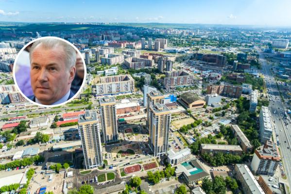 Дмитрий Дмитриев руководит самым большим районом в городе