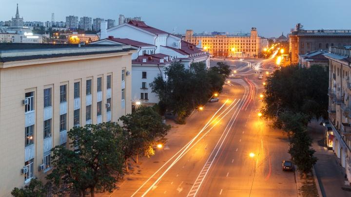 Центр Волгограда остался без света