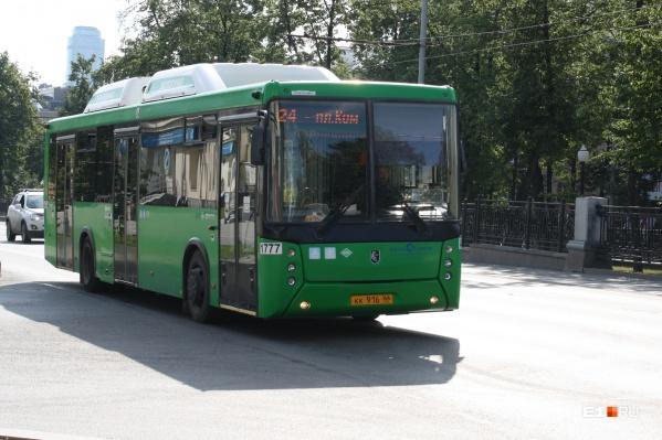Автобусы № 24 в 2020 году начнут ездить по новому маршруту