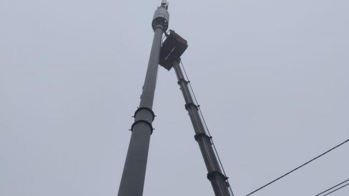 Жителей ЧМЗ возмутила установка вышки сотовой связи рядом с их домами