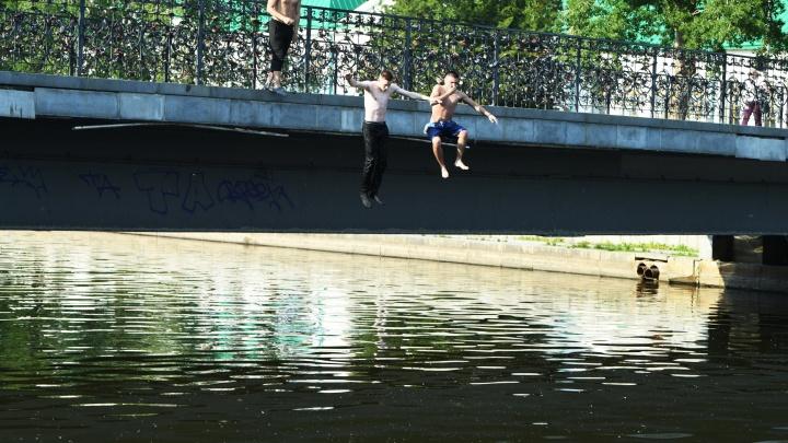 Екатеринбург плавится: как горожане пережили самый жаркий день года