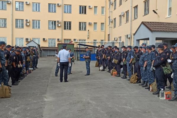 В Волгограде сформировали спецотряд