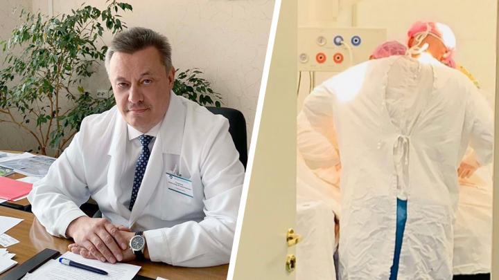 Главврач борской больницы рассказал о состоянии бабушки Даниила Монахова