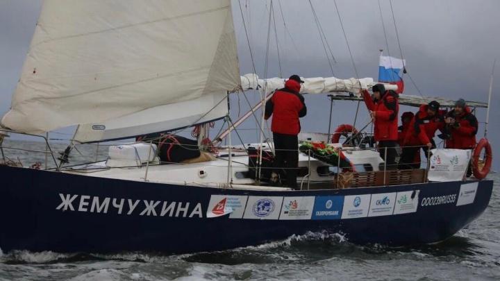 Газпромбанк поддержал удивительную парусную экспедицию в честь 75-летия Великой Победы