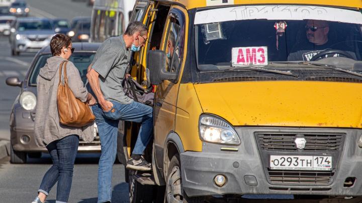 Челябинцы проигнорировали масочный режим в общественном транспорте. Фоторепортаж