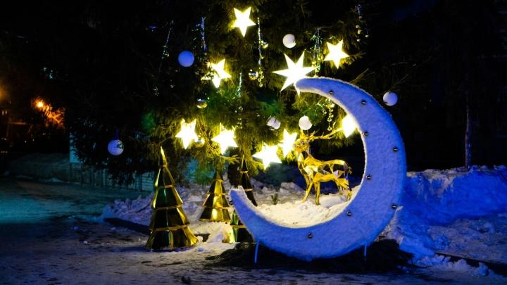 В новогоднюю ночь в Омске похолодает до минус 34 градусов
