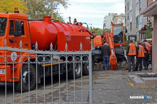 Сотрудники «ОмскВодоканала» будут работать на объектах до позднего вечера