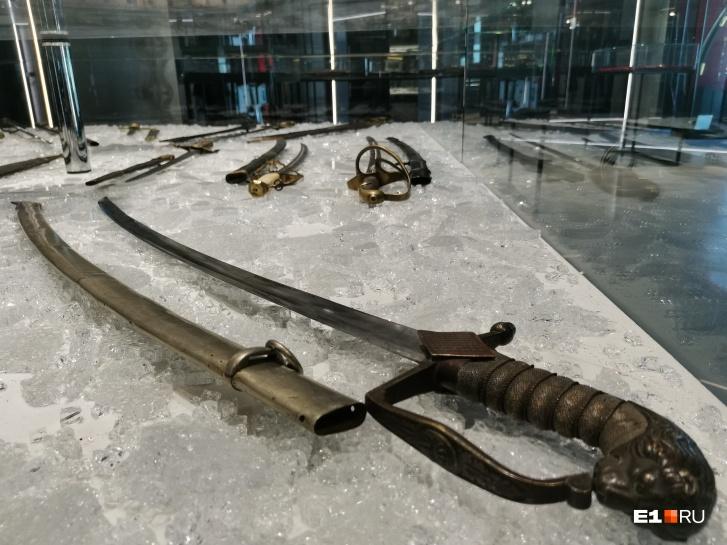 Сабля английского офицера-пехотинца, вторая половина XVIII века