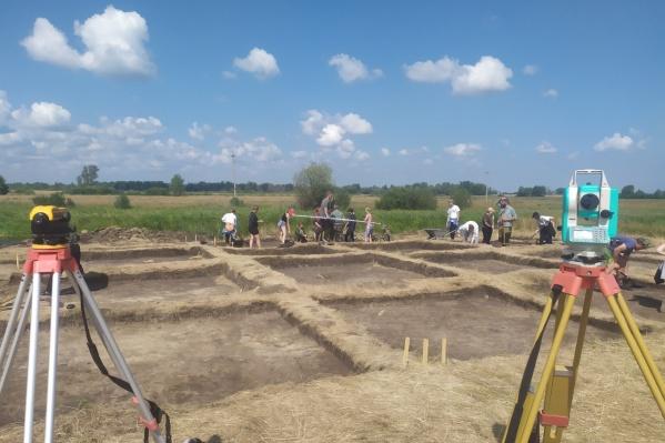 В Белозерском районе этим летом проводят сразу два крупных археологических проекта— раскопки в Слободчиках и реконструируют Савин-1