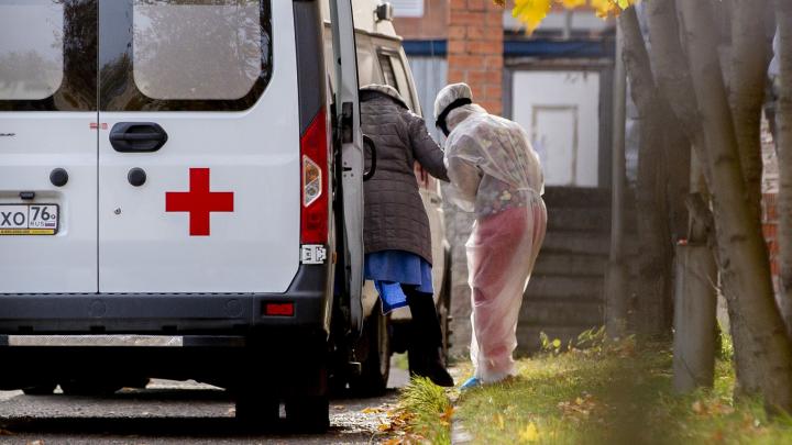 В Ярославле COVID-отделение больницы за четыре дня полностью заполнилось пациентами