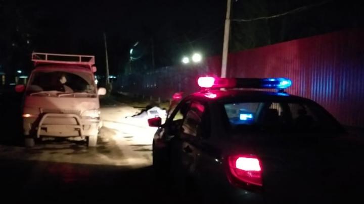 В Ленинском районе водитель без прав насмерть сбил пешехода
