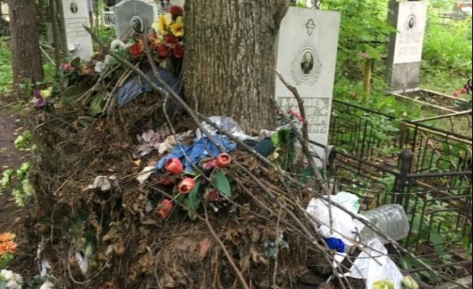 В мэрии Уфы прокомментировали ситуацию с мусором на могиле ветерана