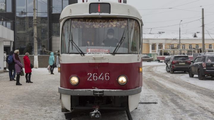 «Гораздо удобнее маршрутки»: волгоградцы заставили вернуть трамвай «единичку»