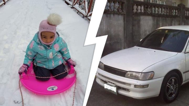 «Отцу стало плохо»: в Новосибирске ищут четырехлетнюю девочку