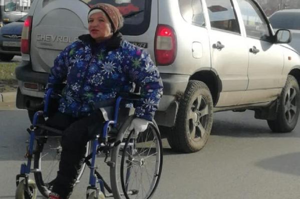 По словам автора сообщения, женщина создает аварийные ситуации