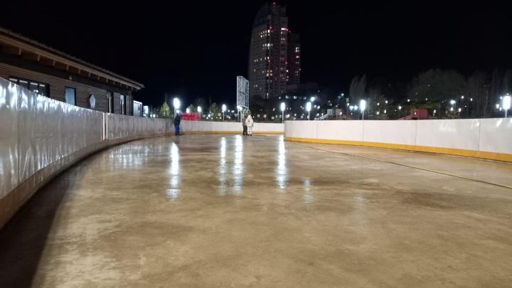 Погода уже позволяет: первый каток в Волгограде откроют к концу ноября