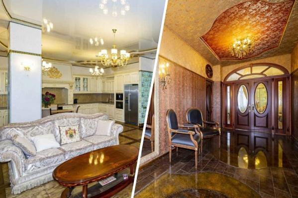 Предыдущие соседи губернатора сделали ремонт в стиле французских салонов XVIII века