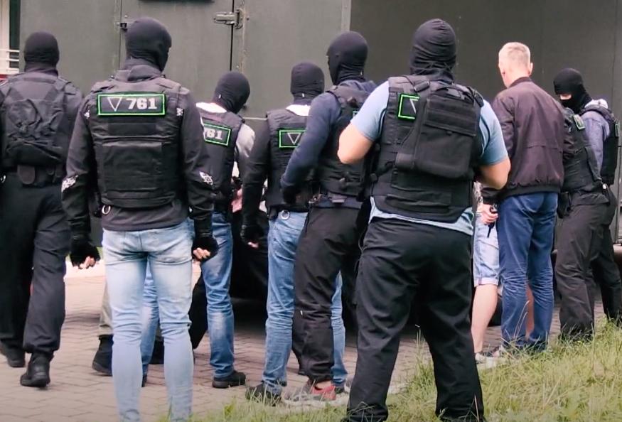 скриншот из сюжета «Беларусь 1» о задержаниибойцов ЧВК Вагнера в Белоруссии / YouTube