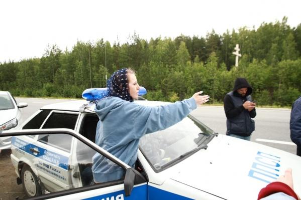 В монастыре напали на Ксению Собчак и ее съемочную группу