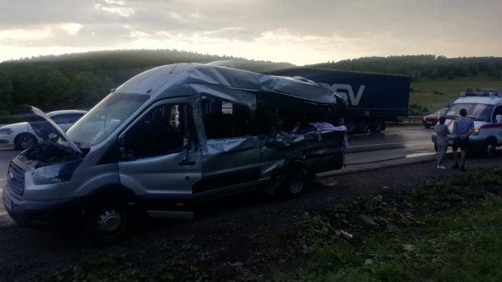 В Минздраве Башкирии рассказали о состоянии пострадавших в смертельном ДТП с автобусом и фурой