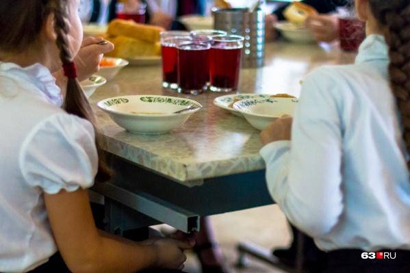 Бесплатное питание получают ученики 1–4-х классов
